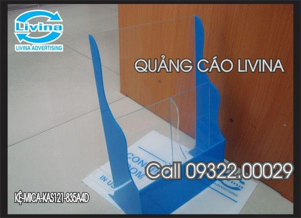 Kệ mica 2 tầng KAS121-835A4D