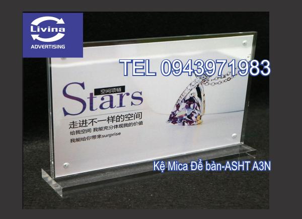 Kệ Mica Để bàn-ASHT-A3N
