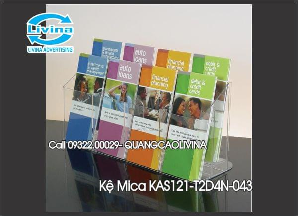 Kệ Mica KAS121-T2D4N-043