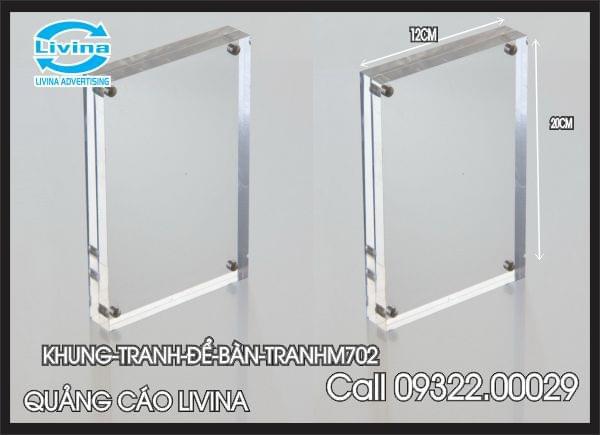 Khung tranh để bàn-TRANHM702