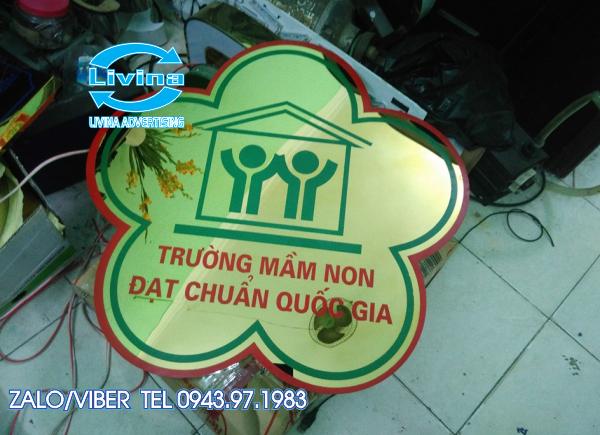 Logo Mầm Non inox