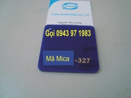 Mica nguyên tấm 327