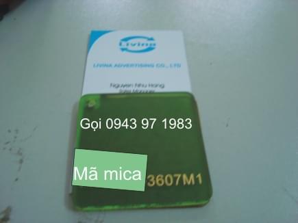 Mica nguyên tấm 3607