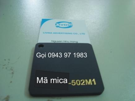 Mica nguyên tấm 502