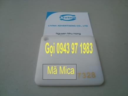Mica nguyên tấm 7328
