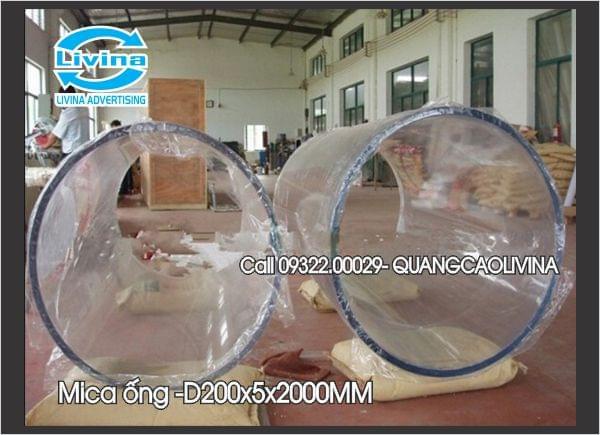 Mica Ống đường kính D200x5x2000mm