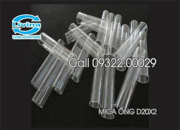 Mica ống tròn đường kính 20mm