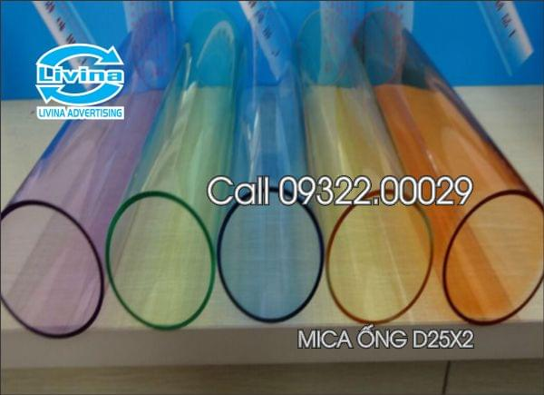 Ống mica D25*2*2000(mm)