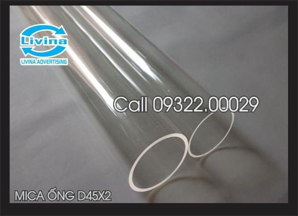 Mica ống tròn 45mm dày 2mm