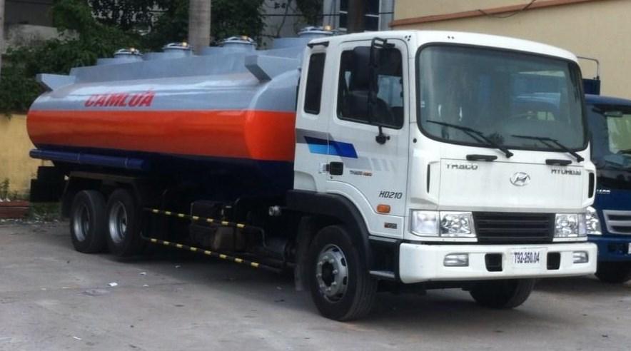 ô tô chuyên dụng chở xăng dầu