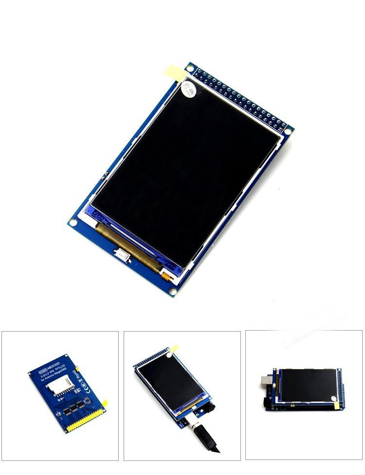 MÀN HÌNH LCD 3.5 INCH TƯƠNG THÍCH ARDUINO MEGA2560
