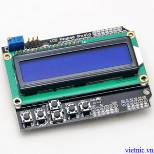 LCD1602 KEYPAD SHIELD