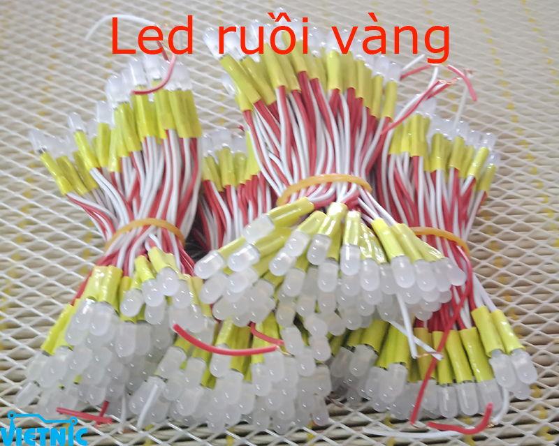 LED RUỒI 5MM MÀU VÀNG