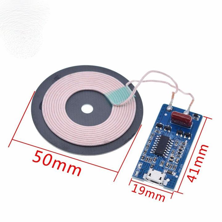 MODULE SẠC KHÔNG DÂY 5W 1A ĐẦU MICRO USB
