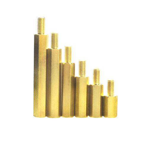 TRỤ ĐỒNG ĐỰC CÁI (10+6 mm) - Ren 3mm