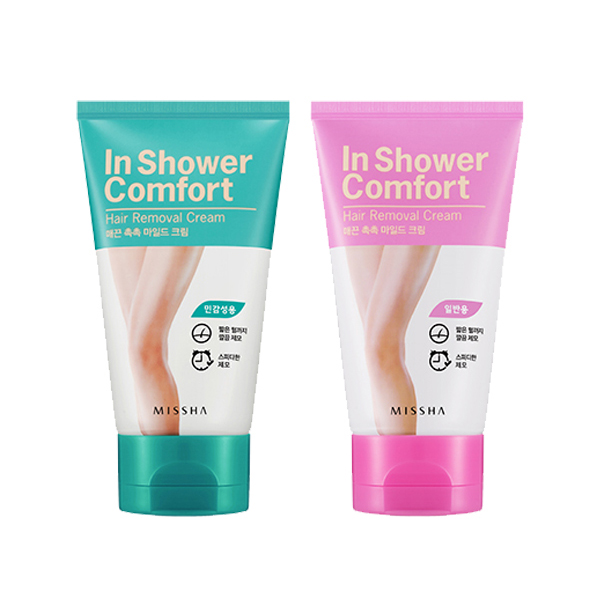 Kem tẩy lông Missha in Shower Comfort Hair Removal Cream