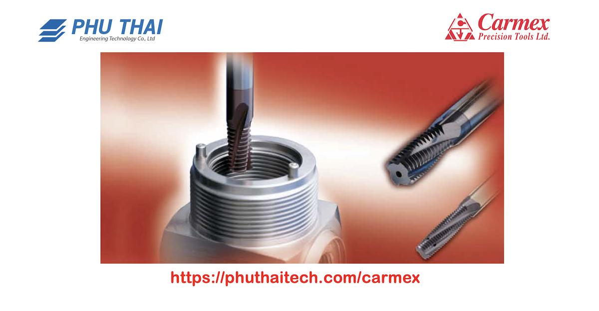 Phú Thái Tech là đại lý duy nhất của Carmex Precision Tools (Israel
