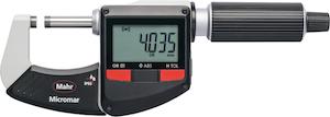 Digital external micrometer IP65 i-wi 0-25 mm