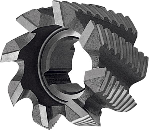 Semi-finishing shell end mill 182500