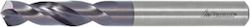 Solid carbide jobber drill extra stub 122151