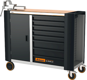 Tủ dụng cụ 914568 - ToolTruck mobile workbench with bamboo worktop