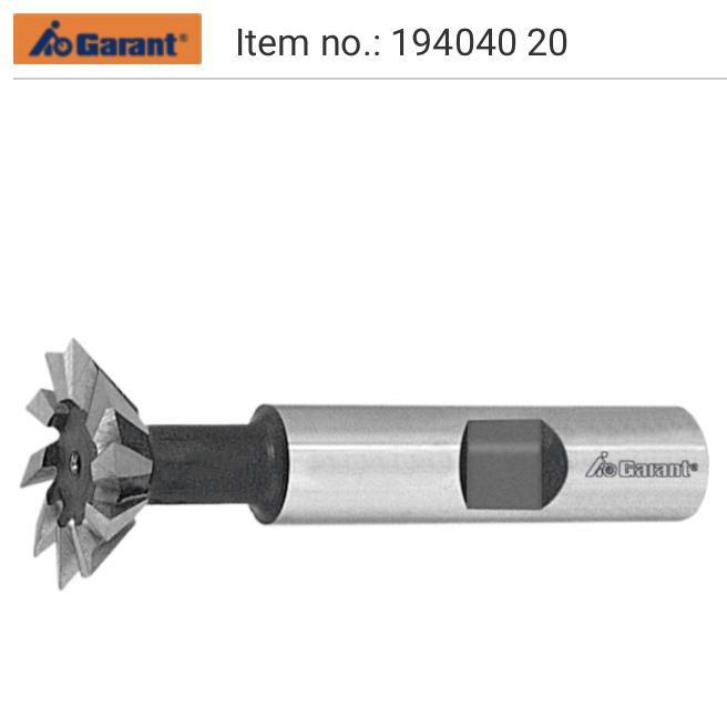 Dao phay đuôi én - Dovetail milling cutter 194040, 194020, 194060, 194120