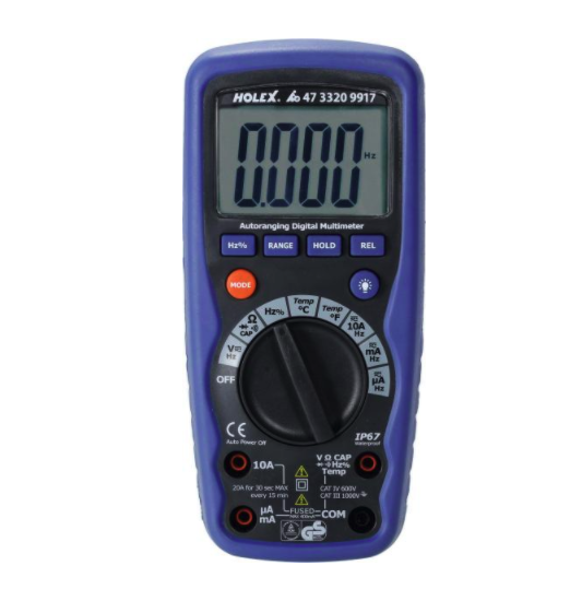 MULTIMETER HOLEX
