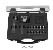 Lăn nhám ZEUS - Knurling tool set