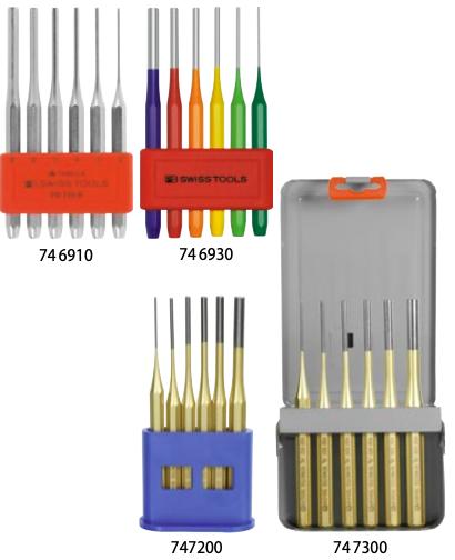 MŨI ĐỘT - Pin punches, sturdy design