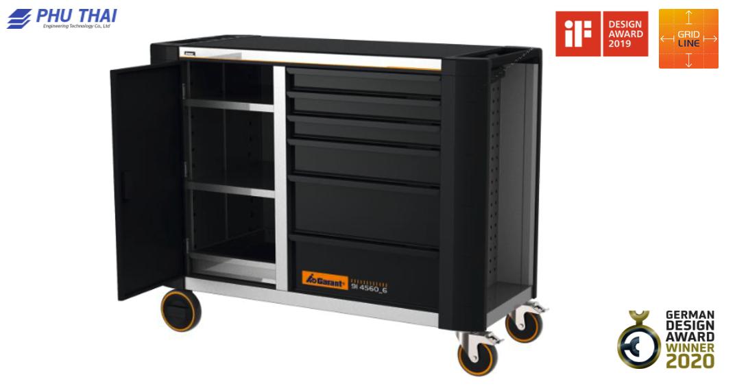 Bàn làm việc di động GARANT ToolTruck với đầy đủ 6 ngăn kéo mở rộng - 914560 6