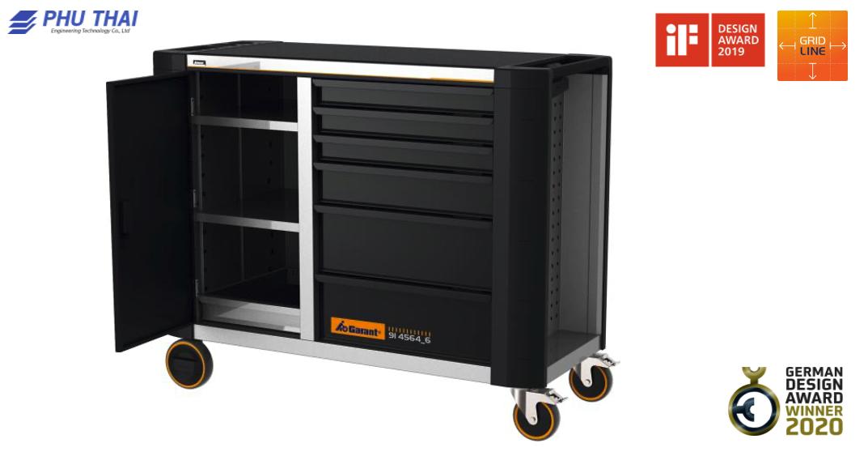Bàn làm việc di động ToolTruck với phần mở rộng đầy đủ Tiện nghi Đóng các ngăn kéo - 914564 6