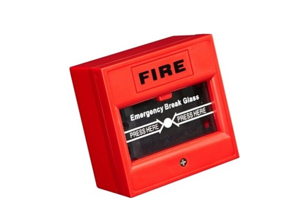 Nút khẩn cấp dạng đập kính , màu đỏ DS-K7PEB