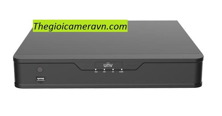 Đầu ghi hình UNV NVR302-16S-P1616-ch POE, 2 SATA interface, 1U,  Ultra265&4K, 1 RJ-45 10M / 100M / 1000M