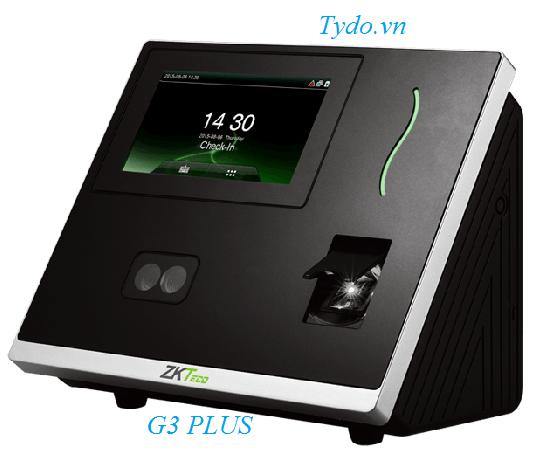 Máy chấm công nhận diện khuôn mặt kết hợp vân tay ZKTeco G3 Plus
