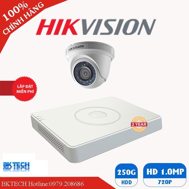 Lắp Đặt Trọn Bộ 2 Camera Giám Sát HIKVISION HD BK-2CEC0T