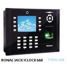 Máy chấm công vân tay thẻ từ kết hợp chụp hình Iclock 660