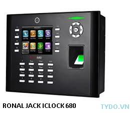 Máy chấm công vân tay và thẻ  Iclock 680