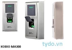 Máy kiểm soát ra vào bẳng vân tay và thẻ RIFD MA300