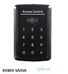 Máy chấm công vân tay và thẻ kết hợp kiểm soát cửa  Kobio SA33A