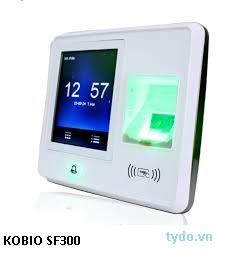 Máy chấm công vân tay và thẻ kết hợp kiểm soát cửa  Kobio SF 300
