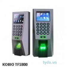 Máy chấm công và kiểm soát ra vào dùng vân tay và thẻ  TF1800