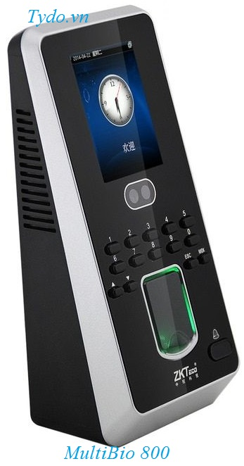 Máy chấm công nhận diện khuôn mặt kết hợp vân tay ZKTeco MultiBio 800-H