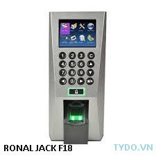 Máy chấm công và kiểm soát ra vào dùng vân tay và thẻ Ronald jack F18