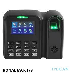 Máy chấm công vân tay và thẻ cảm ứng RONALD JACK T79