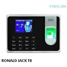 Máy chấm công vân tay và thẻ cảm ứng RONALD JACK T8