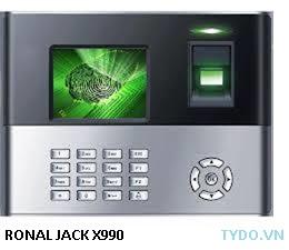 Máy chấm công vân tay Ronald jack X990