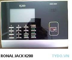 Máy chấm công dùng thẻ K200