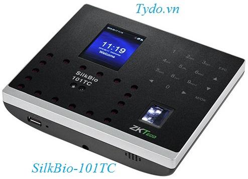 Máy chấm công nhận diện khuôn mặt kết hợp vân tay ZKTeco Silkbio - 101TC