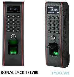 Máy chấm công và kiểm soát ra vào dùng vân tay  và thẻ TF1700