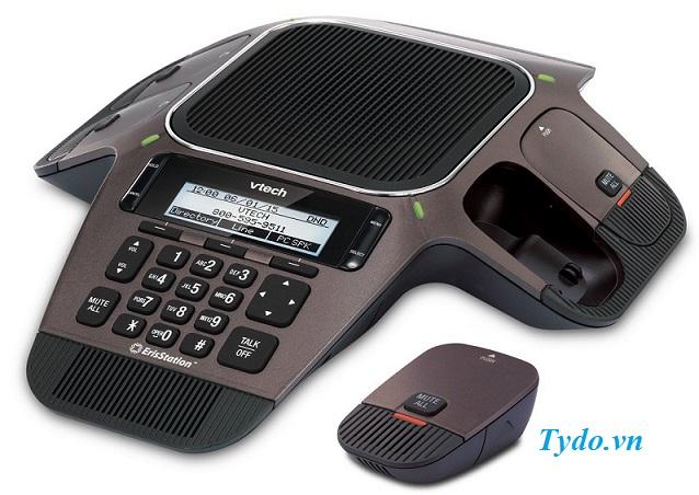 Bộ điện thoại hội nghị không dây VCS754 (IP SIP)